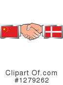 Handshake Clipart #1279262 by Lal Perera