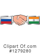 Handshake Clipart #1279280 by Lal Perera