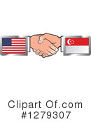 Handshake Clipart #1279307 by Lal Perera