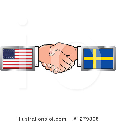Handshake Clipart #1279308 by Lal Perera