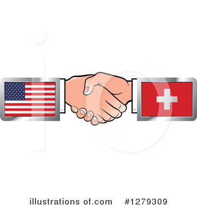 Handshake Clipart #1279309 by Lal Perera