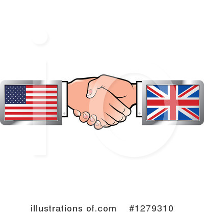 Royalty-Free (RF) Handshake Clipart Illustration by Lal Perera - Stock Sample #1279310