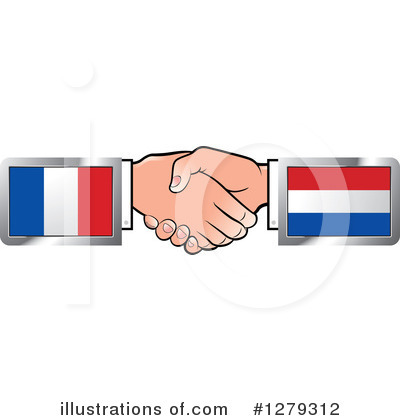 Handshake Clipart #1279312 by Lal Perera