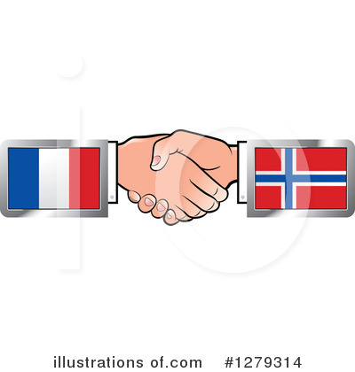 Handshake Clipart #1279314 by Lal Perera