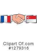 Handshake Clipart #1279316 by Lal Perera