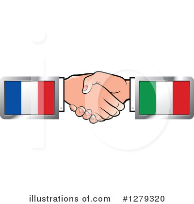 Handshake Clipart #1279320 by Lal Perera