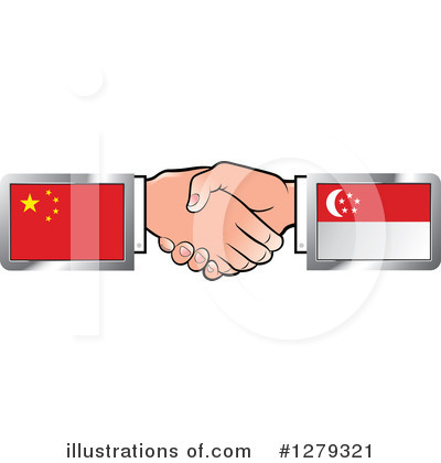 Handshake Clipart #1279321 by Lal Perera