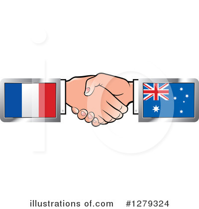 Handshake Clipart #1279324 by Lal Perera