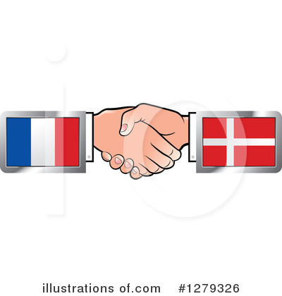 Handshake Clipart #1279326 by Lal Perera