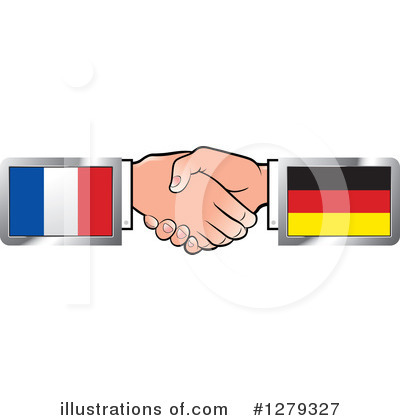 Handshake Clipart #1279327 by Lal Perera