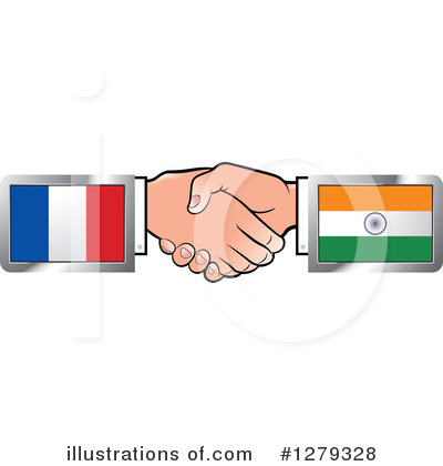 Handshake Clipart #1279328 by Lal Perera