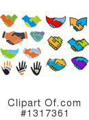 Handshake Clipart #1317361 by Vector Tradition SM