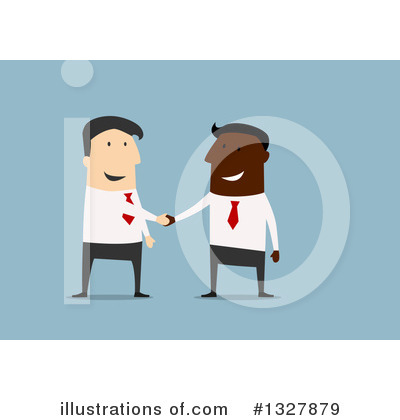 Handshake Clipart #1327879 by Vector Tradition SM