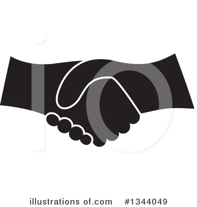 Handshake Clipart #1344049 by ColorMagic