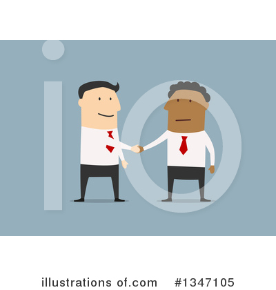Handshake Clipart #1347105 by Vector Tradition SM