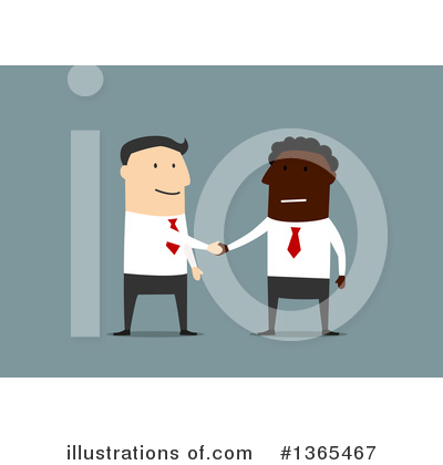 Handshake Clipart #1365467 by Vector Tradition SM