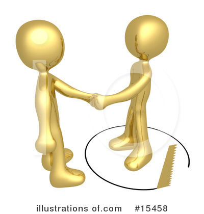 Handshake Clipart #15458 by 3poD
