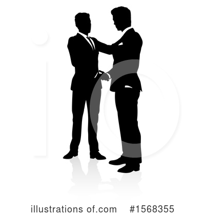 Royalty-Free (RF) Handshake Clipart Illustration by AtStockIllustration - Stock Sample #1568355