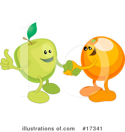 Handshake Clipart #17341 by AtStockIllustration