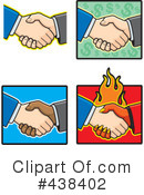 Handshake Clipart #438402 by Cory Thoman