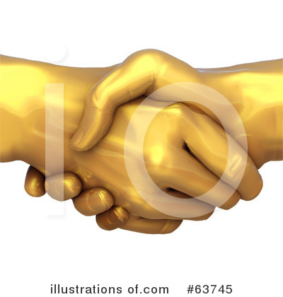 Handshake Clipart #63745 by Tonis Pan