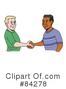 Handshake Clipart #84278 by LaffToon