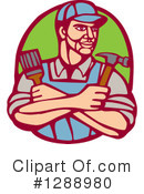 Handy Man Clipart #1288980 by patrimonio