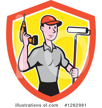 Painter Clipart #1262981 by patrimonio