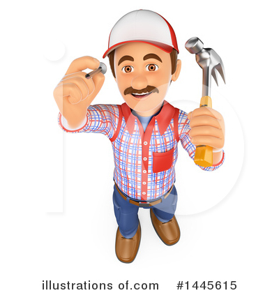 Worker Clipart #1445615 by Texelart