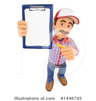 Worker Clipart #1446743 by Texelart