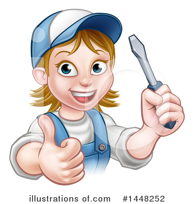 Electrician Clipart #1448252 by AtStockIllustration