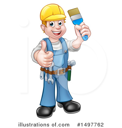 Worker Clipart #1497762 by AtStockIllustration