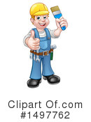 Handyman Clipart #1497762 by AtStockIllustration