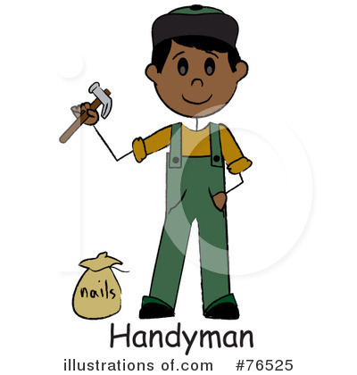 Handyman Clipart #76525 by Pams Clipart