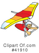 Hang Gliding Clipart #41910 by Snowy
