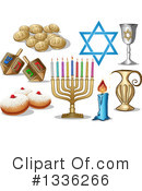 Royalty-Free (RF) Hannukah Clipart Illustration #1336266