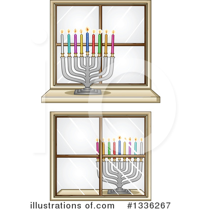 Judaism Clipart #1336267 by Liron Peer