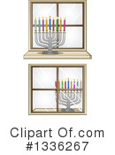 Royalty-Free (RF) Hannukah Clipart Illustration #1336267