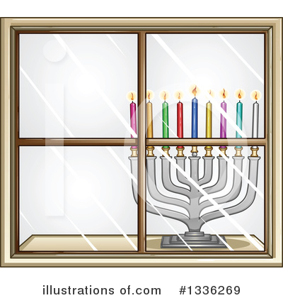 Hanukkah Clipart #1336269 by Liron Peer