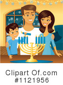 Royalty-Free (RF) Hanukkah Clipart Illustration #1121956