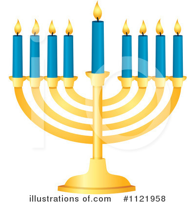 Royalty-Free (RF) Hanukkah Clipart Illustration by Amanda Kate - Stock Sample #1121958