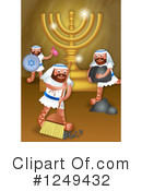 Royalty-Free (RF) Hanukkah Clipart Illustration #1249432