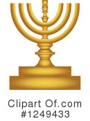 Royalty-Free (RF) Hanukkah Clipart Illustration #1249433