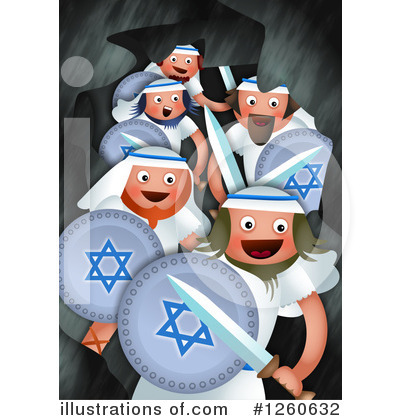 Royalty-Free (RF) Hanukkah Clipart Illustration by Prawny - Stock Sample #1260632