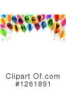 Happy Birthday Clipart #1261891 by AtStockIllustration