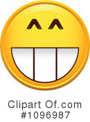 Happy Face Clipart #1096987