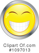 Happy Face Clipart #1097013