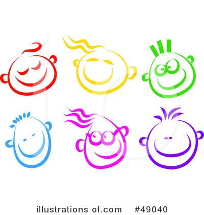 Happy Face Clipart #49040 - Illustration by Prawny