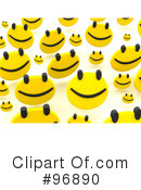 Happy Face Clipart #96890