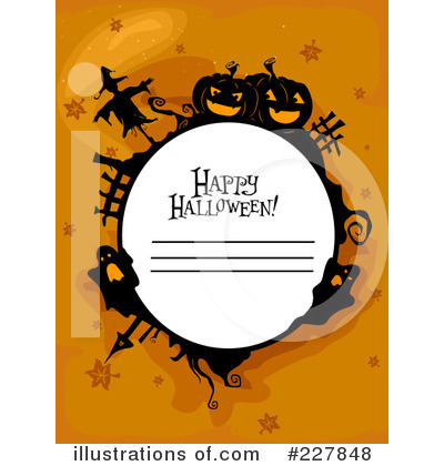 Happy Halloween Clipart #227848 by BNP Design Studio